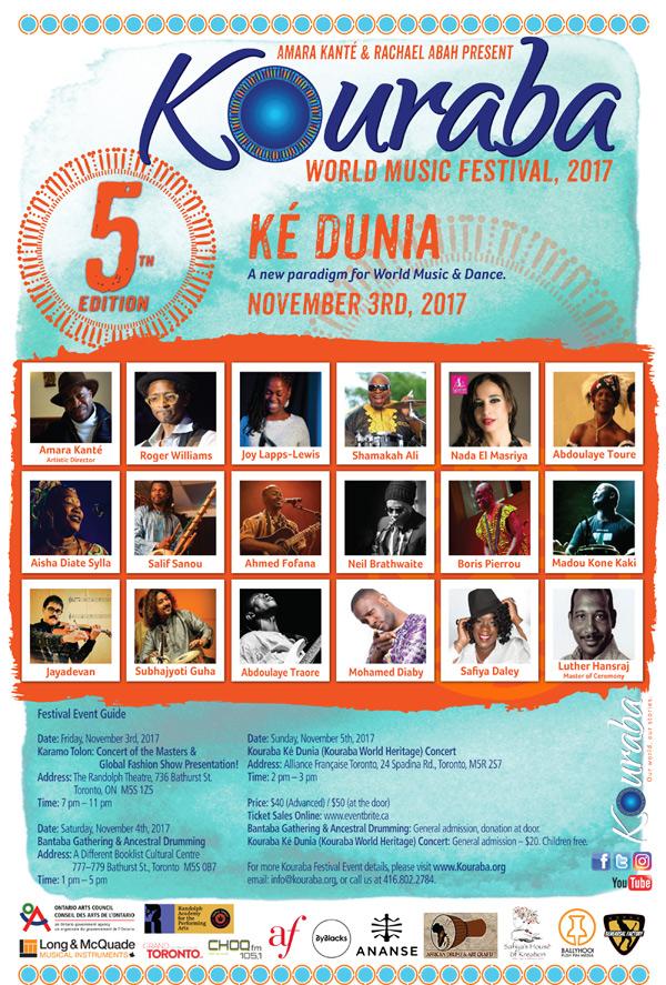 Kouraba 4th Annual Festival Poster