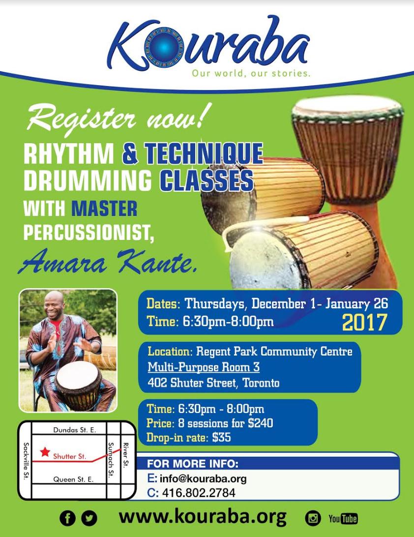 Kouraba Drumming Lessons