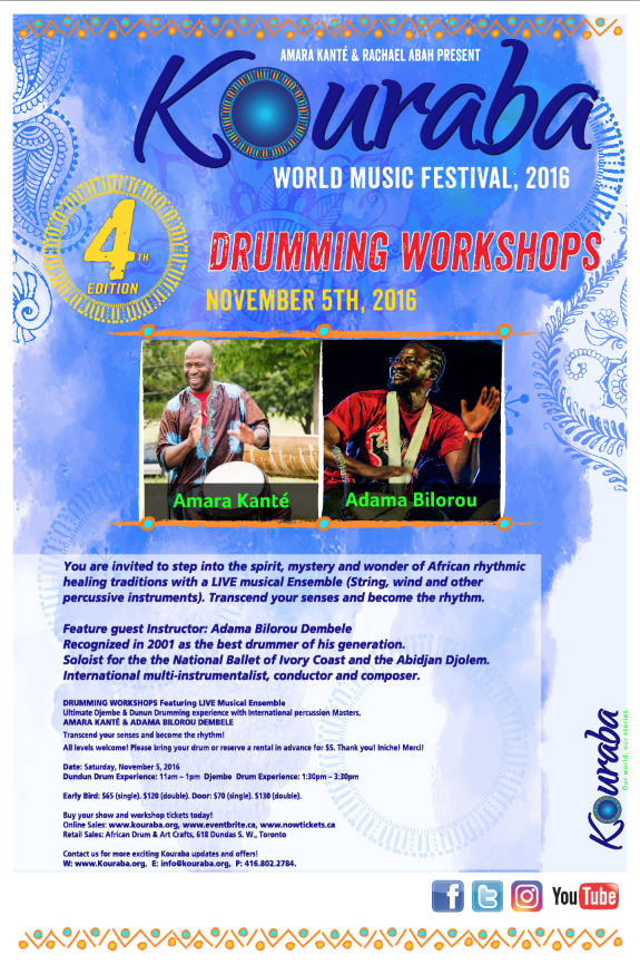 Kouraba 4th Annual Festival Poster